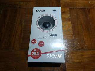 SJCam New SJ360 Action Cam (White)