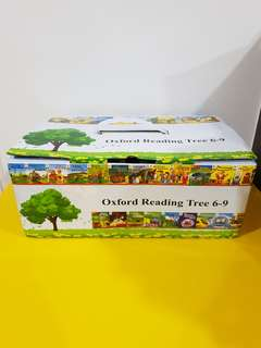 Brand new in box Oxford reading tree body chip kipper English level 6 to 9 stage 6 7 8 9 story book