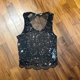 Neulook sequined top
