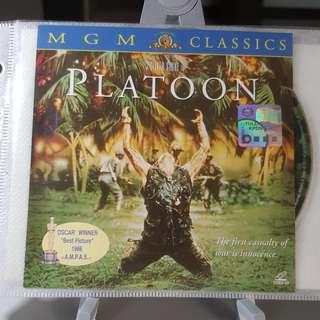 VCD - PLATOON (1986) war drama tom berenger charlie sheen forest whitaker johnny depp