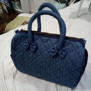 Naraya Denim Blue Hand Bag