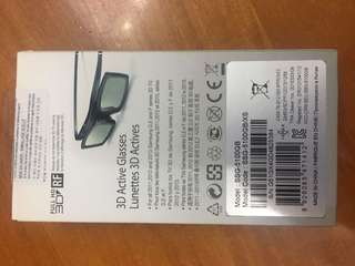 Samsung 3D glasses 3D 眼鏡 全新