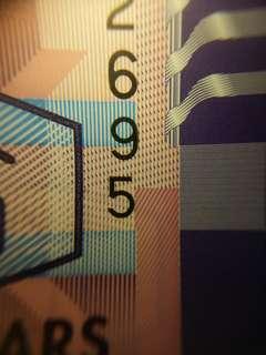 [跳字移位]2014 政府$10 ZL232695
