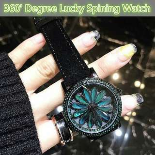 2018 Lucky Spinning Watch for Lady