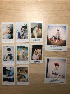 SEVENTEEN love & letter repackage photocards