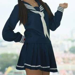 URGENT WTS) NAVY SERAFUKU (Sailor top)