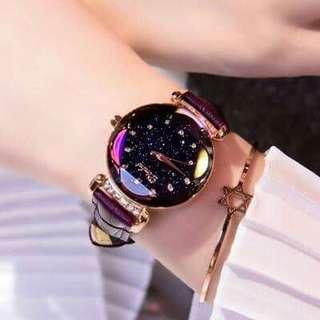 2018 Jam Tangan Wanita Terpanas, Top Quality Lady Watch Dari Korea