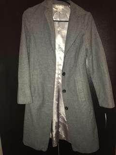 Grey formal coat