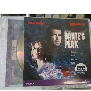 VCD - DANTE'S PEAK (1997) action adventure natural disaster volcano pierce brosnan linda hamilton