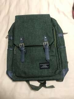 Grey laptop haversack