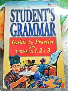Students grammar practice form1,2,3