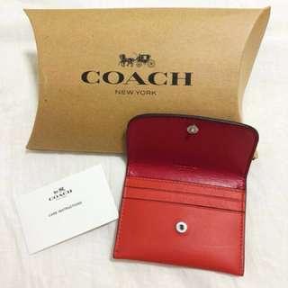 Coach Card Holder - Brand New