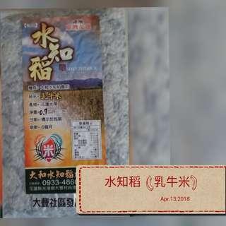 台灣花蓮水知稻 Taiwan Hualian Shui Zhi Rice