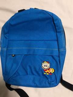 Blue haversack for toddlers