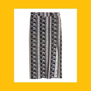 H&M Bohemian Maxi Skirt