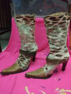 ORI Karen Milena vero cuoio italy boots