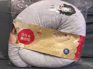 六甲村媽咪樂活枕,餵奶枕