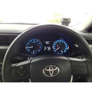 Toyota Altis Original Leather Steering Wheel ZRE171 2014-2016
