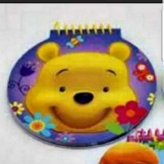 In Stock Disney Winnie The Pooh Notebook 60 Sheets