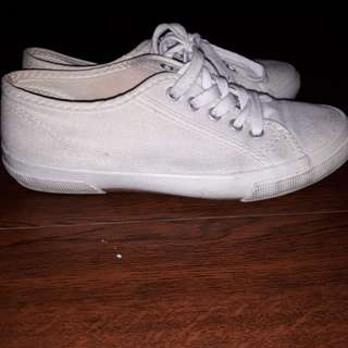 Old Navy Pure White Sneakers