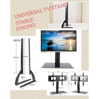 Universal TV table top TV stand/bracket/wall mount/ceiling mount