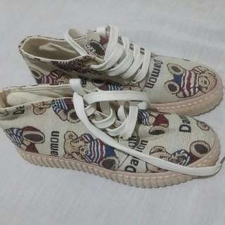 Korean Printed Rubber Shoes 250.00 Free Shipping Metro Manila Only