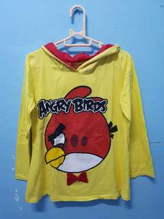 Angry Birds Yellow Hoodie