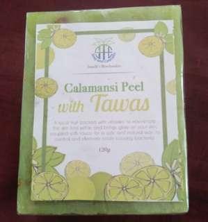 Calamansi Peel with Tawas