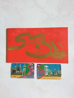 1996 Singapore National Day (2 phonecard)