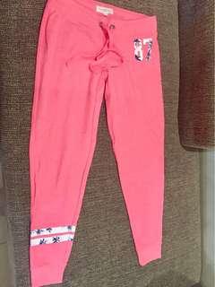 pink jogger pants