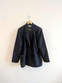 VINTAGE 90S Silk Blazer