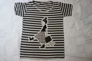 T-shirt little girl