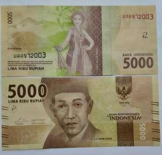 Birthday Money 9-7-2003/9 Juli 2003