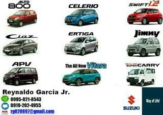 Car Loan Suzuki Toyota Mitsubishi Hyundai Low Downpayment High Discount Call or Text 0995-821-8543 / 0919-202-4955