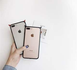 小惡魔iPhone Case