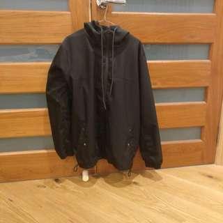 Mr simple thick rain jacket