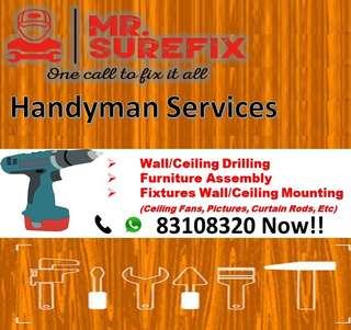 Drilling, Assembly & Mounting Services!!!