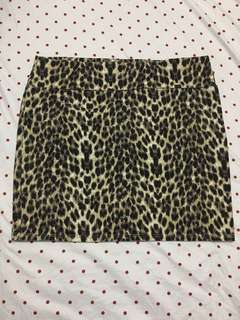 Cotton on Leopard Skirt