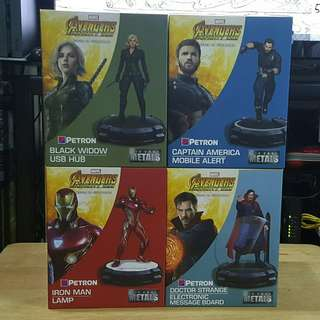 Petron Avengers Infinity War set of 4