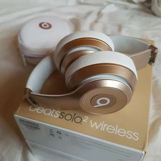 Beats Solo 2 Wireless (Gold)