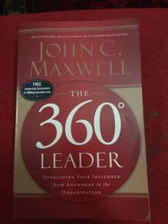 360 Leader by John C. Maxwell