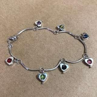 心心手鏈 / 手鍊 Bracelet (包平郵)
