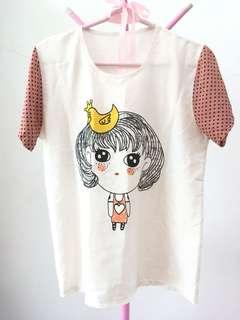Cute Korean blouse