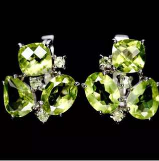 🌹🌹SALE!! SWEET!! Peridot earrings