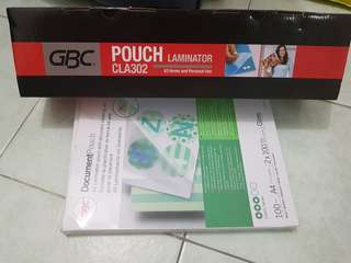 GCB Pouch CLA 302 Laminator