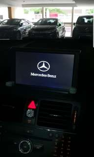 Mercedes C180 W204 pre facelift touch screen monitor