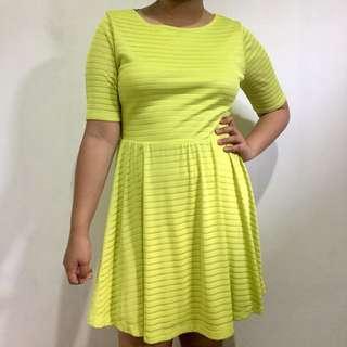 Forever 21 Neon Dress