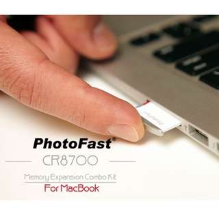 CR8700 PhotoFast Memory Expansion Combo Kit for Apple MacBook