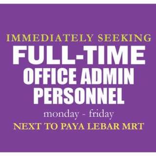 Admin Personnel