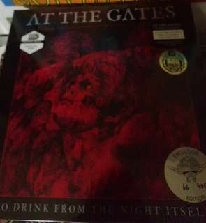 Mint LTD 66/400 At the gates to drink from the night itself lp vinyl record. New album